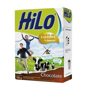 harga Hilo Gold Chocolate Susu [750 g] Blibli.com
