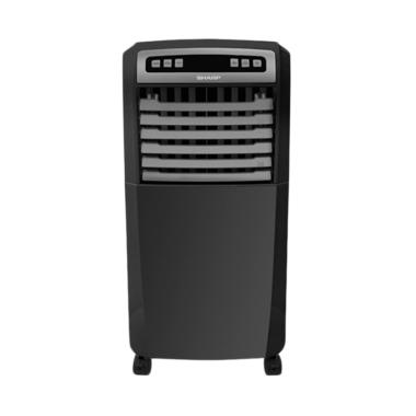 SHARP PJ-A77TY-B Air Cooler - Black [hanya JADETABEK]