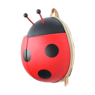 J&J Kids Ladybug Backpack - Red