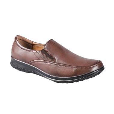 Bata Iddo 8514016 Sepatu Pria - Brown