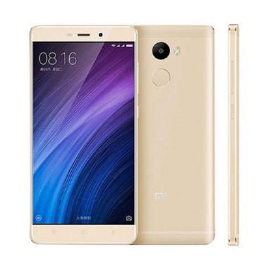 Xiaomi Redmi 4 Prime Smartphone - Gold [32 GB/3 GB]