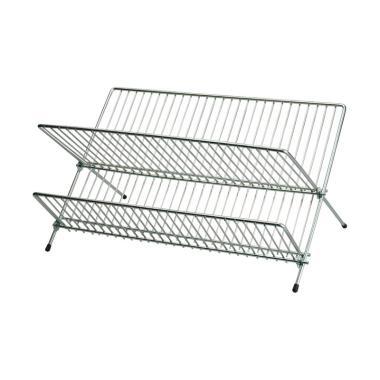 Ikea Kvot Rak Piring - Silver