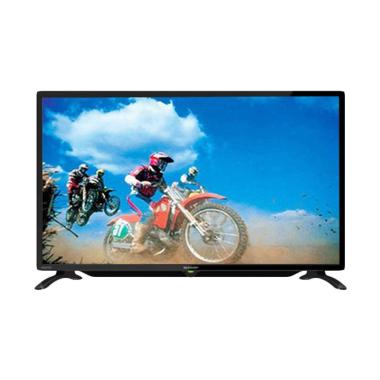 SHARP 32LE185 LED TV - Hitam [32 Inch]