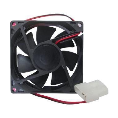 Mediatech 8 cm CPU Fan - Hitam ( 61708 ) - Kipas PC