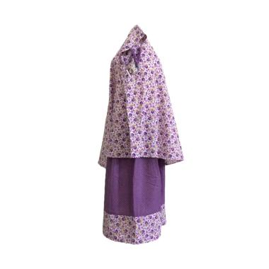 Mukena Dinda Katun RS 04 Mukena Anak - Purple Rose