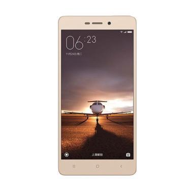 Xiaomi Redmi 3S Prime Smartphone - Gold [32GB/ 3GB/ 4G LTE]