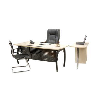 Aditech FD 08 Meja Kantor - Maple