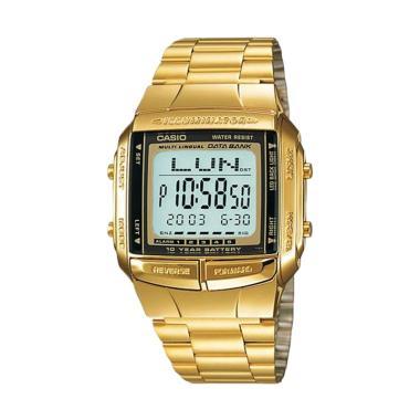 Casio DB - 360G Jam Tangan Pria - Gold
