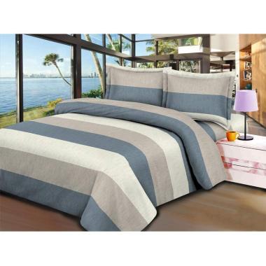 V-Bed Set Sprei - Blaster Grey