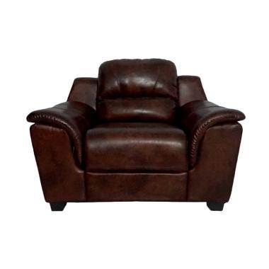 Aim Living Unique 1 Seat Sofa - Cinnamon