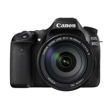 Canon EOS 80D KIT III EF-S18-200MM IS Kamera DSLR