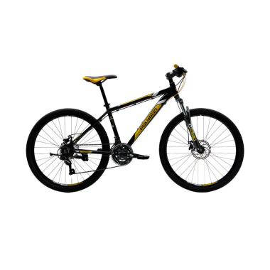 Polygon Monarch 5 Sepeda Gunung MTB - Black [26 Inch]