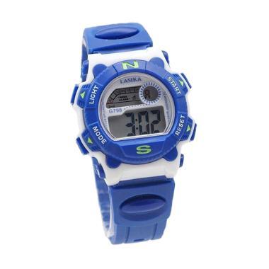 Lasika G798 Jam Tangan Anak - Blue White