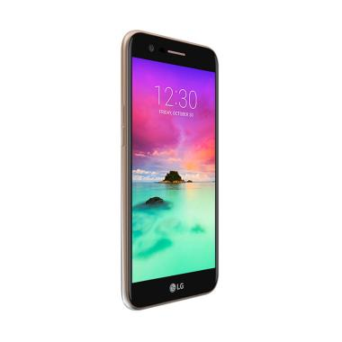 LG K10 2017 Smartphone - Gold Garansi Resmi