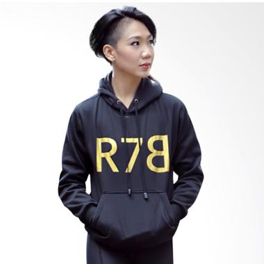 R7B Collection Hoody Sweater Wanita - Black