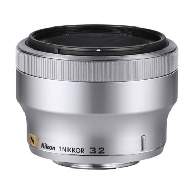 Nikon 1 Nikkor 32mm f-1.2 Lensa Kamera - Silver