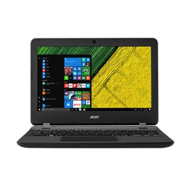 Acer ES1-132 Notebook - Black [Inte ... /Win10] + Free Sleevecase