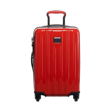 TUMI V3 International Expandable Carry-On Sunset Koper - Red