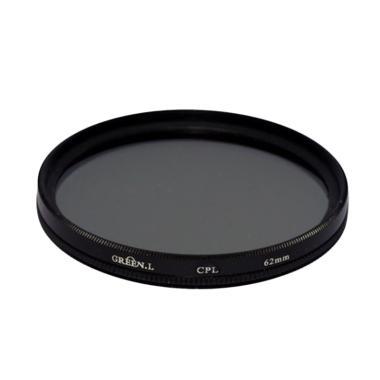 Green L CPL 62mm Filter Lensa