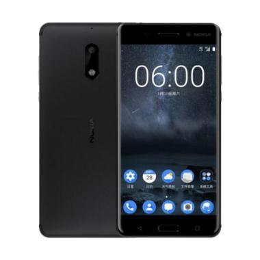 Nokia 6 Smartphone - Black [64GB/4GB]