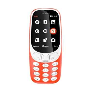 Nokia 3310 Handphone - Warm Red
