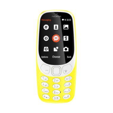 Nokia 3310 Handphone - Yellow
