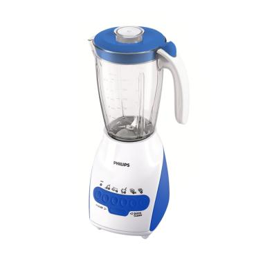 PHILIPS HR-2115 Blender Plastik- Biru Blue (BURBLE WRAP SAFETY)