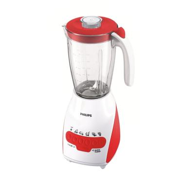 Philips HR-2115 Blender - Merah