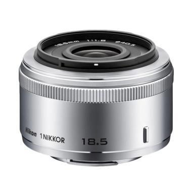 Nikon 1 NIKKOR 18.5mm f/1.8 Lensa Kamera - WHITE