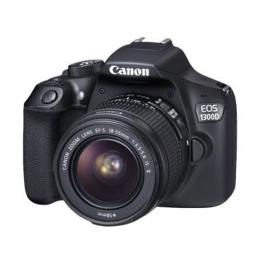 Canon EOS 1300D Lens Kit 18-55 mm I ... GB + S. GUARD + FILTER UV