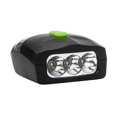 OEM 3 LED Lampu Sepeda with Horn