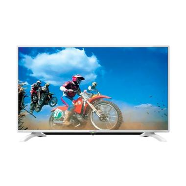 SHARP 40LE185 LED TV - Putih [40 Inch]+Bonus Bracket Dinding