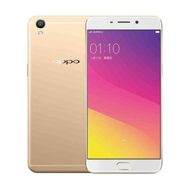 OPPO A37 Gold + Headset Bluetooth