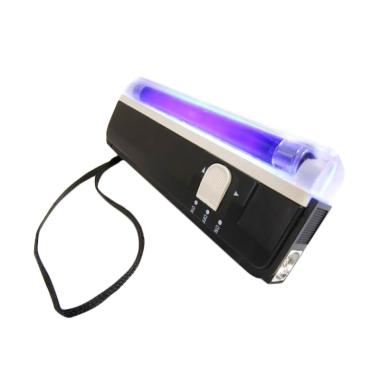 Money Detector Portable Smart UV Al ... u Dilengkapi Lampu Senter