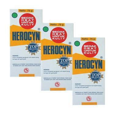 Herocyn Powder [75 g/3 botol]