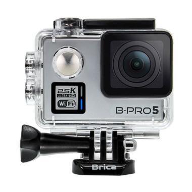 Brica B-Pro5 Alpha Plus Action Camera - Silver [2 Inch]
