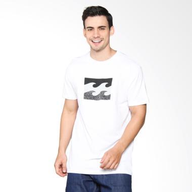 Billabong Team Wave Tee T-Shirt Pria - White M401KTEA WHI00