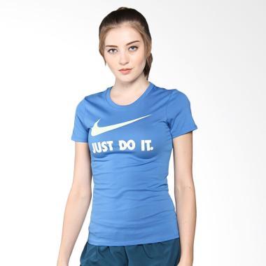 NIKE As Women Nsw Tee Crew Jdi Swoo ... hraga - Blue [889404-494]