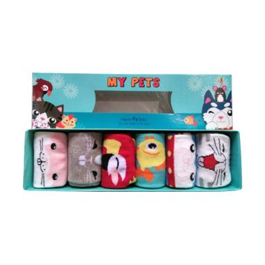 Happy Baby My Pets Kaos Kaki Bayi 1 Box [6-12 bulan]