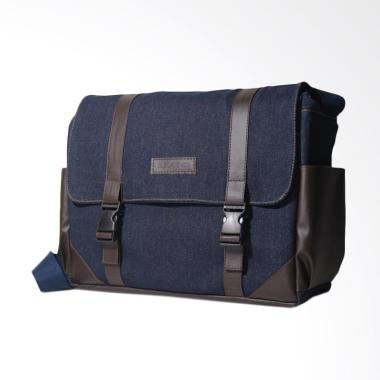 Bleugenes Messenger Bag Postman Tas Denim Bag