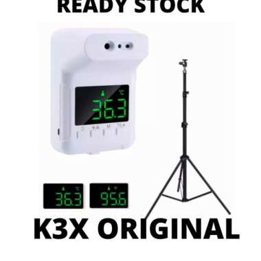harga Thermometer digital monitor K3 K3S k3 pro stand - k3X+stand Muticolor Blibli.com