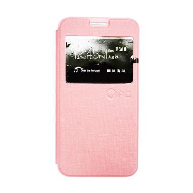 Nano Flip Cover Casing for Vivo Y35 - Pink