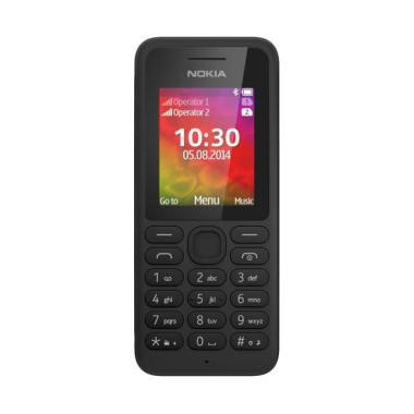 Nokia 130 Camera Handphone - Black [Dual SIM]