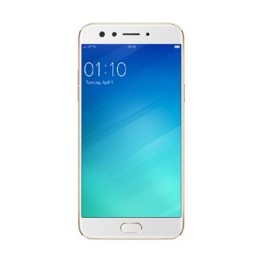 Oppo F3 Smartphone - Gold [64GB/ 4GB] FREE TONGSIS CABLE