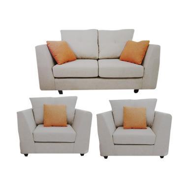 Creova  2 1 1 Xenia Set Sofa - Creme