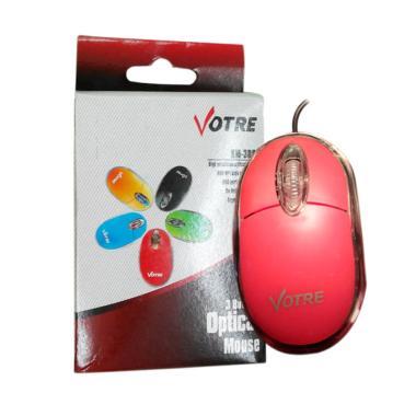 Votre KM-309 Mouse Usb - Merah