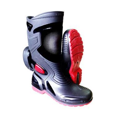 Ap Boot MOTO 3 Sepatu Biker - Hitam