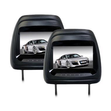 AVT HM-7088 Headrest Black TV Mobil