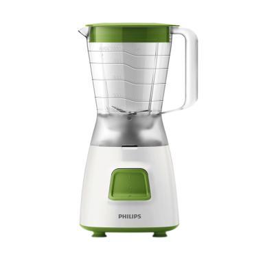 harga Philips Blender HR2057/03 HR2057 HR 2057 Beserta Grain Mill / Penggiling Kacang / Bumbu Kering Green Hijau Blibli.com