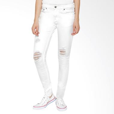 Veyl Gisha Denim Celana Jeans - White